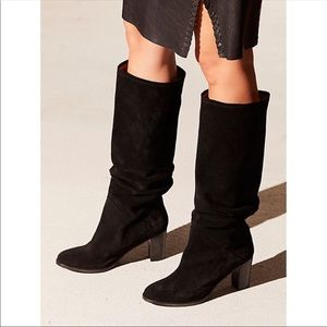 Free People Tennison Tall Suede Boot